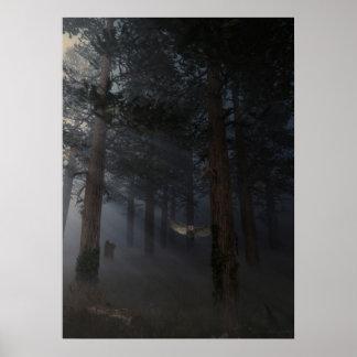 Noche silenciosa poster