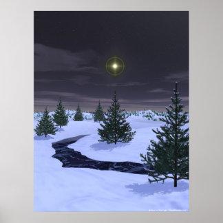 Noche silenciosa póster