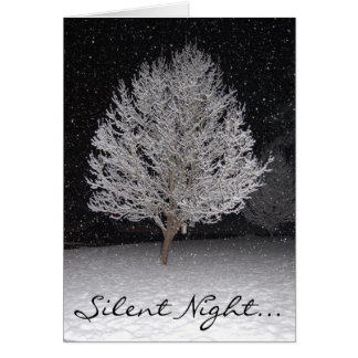 Noche silenciosa… tarjeta pequeña