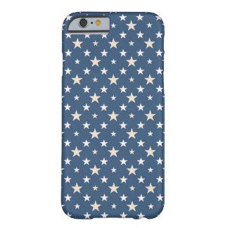 Noche stary azul funda para iPhone 6 barely there
