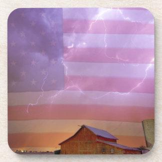 Noche tempestuosa del país americano posavaso