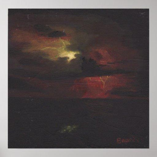 Noche tempestuosa póster