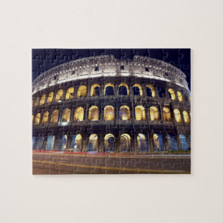 Noche tirada de Colosseum Rompecabezas Con Fotos
