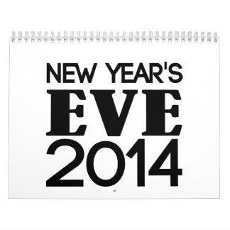 Noche Vieja 2014 Calendario