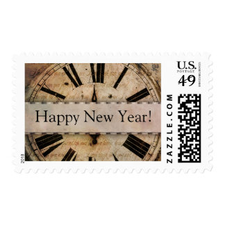 Noche Vieja - Feliz Año Nuevo Sellos Postales