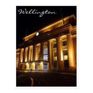 noche Wellington de la estación Postal