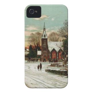 Nochebuena 2 del vintage Case-Mate iPhone 4 cobertura