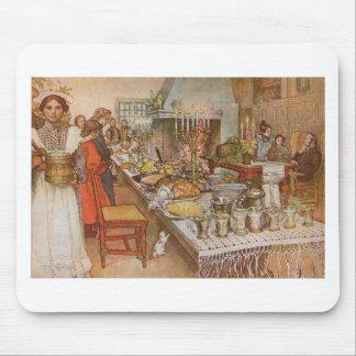 Nochebuena Carl Larsson 1904 Mousepad