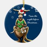 Nochebuena en Australia Ornamento Para Arbol De Navidad