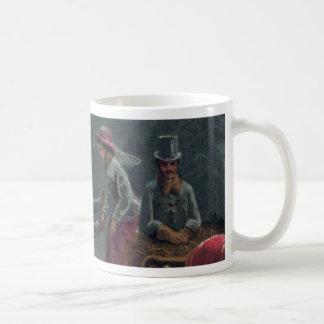 Nochebuena en la taza de los 1800s