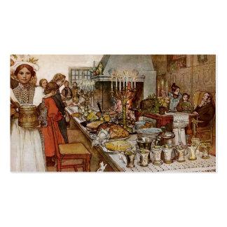 Nochebuena Julaftonen Plantillas De Tarjeta De Negocio