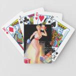Nochebuena modela baraja cartas de poker