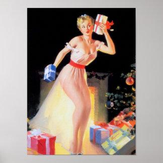Nochebuena modela póster