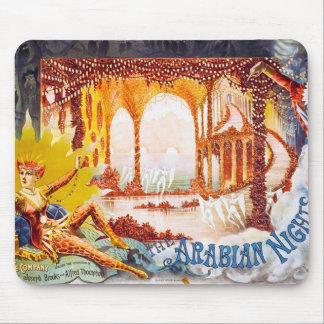 Noches árabes alfombrilla de ratón