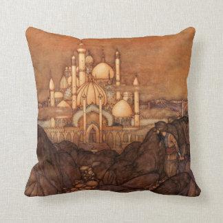Noches árabes de la arquitectura de Edmund Dulac d Almohada