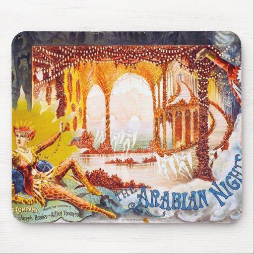 Noches árabes tapetes de ratón