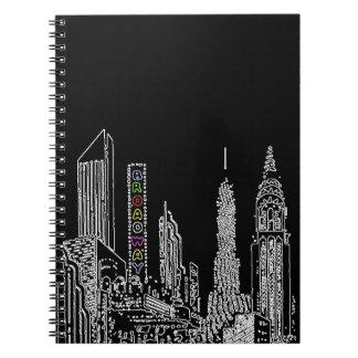 Noches de Broadway Cuaderno