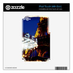 Noches de Eiffel Calcomanías Para iPod Touch 4G