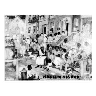 Noches de Harlem Postales