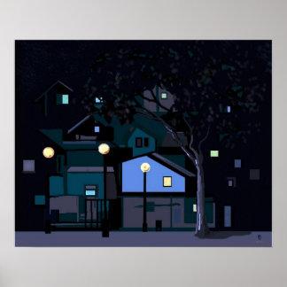 noches de la ciudad póster