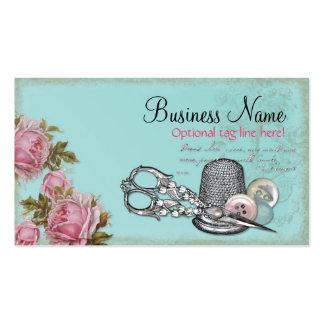 Nociones de costura tarjetas de negocios