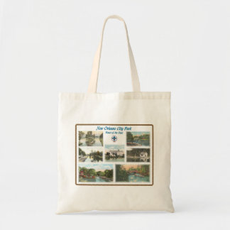 NOCP-Boats of the Past Budget Tote Bag
