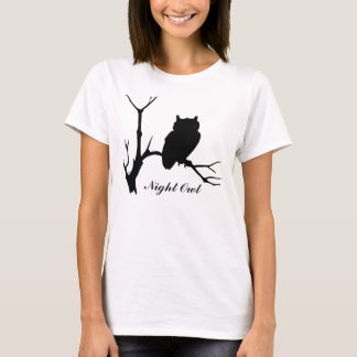 Noctámbulo: Camiseta de la silueta del búho