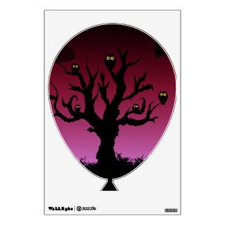 Noctámbulos de Halloween Vinilo Decorativo