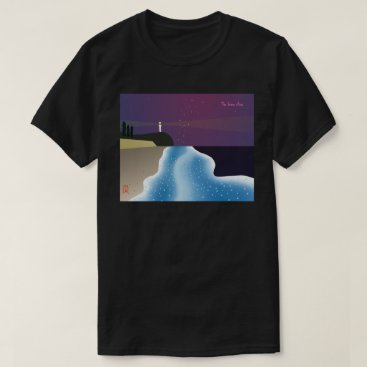 Beach Themed Noctilucence insect (blue version type-2) T-Shirt