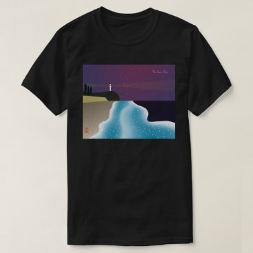 Beach Themed Noctilucence insect (emerald green version type-2) T-Shirt