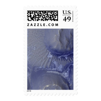 Noctis Labyrinthus formation on Mars Stamp