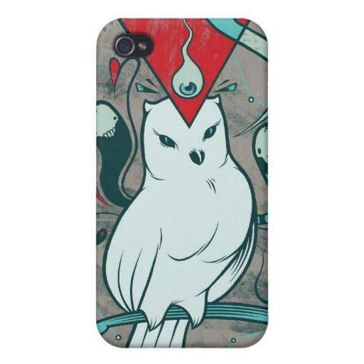 Noctua iPhone 4 Carcasas