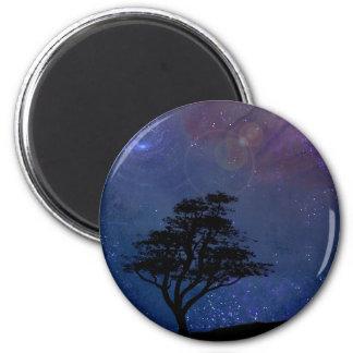 Nocturnal 2 Inch Round Magnet