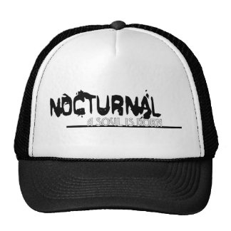 Nocturnal: A Soul Is Born Trucker Hat