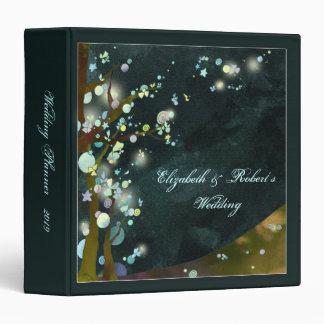 Nocturnal Elven Forest Wedding Planner Binder