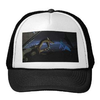 Nocturnal fight trucker hat