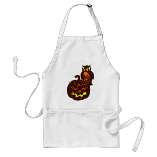Nocturnal Night Adult Apron