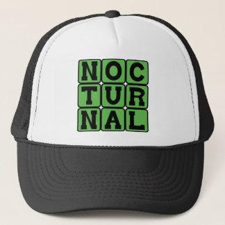 Nocturnal, Night Hunter Trucker Hat