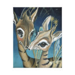 """""""Nocturnal Nuzzles at Nightfall"""" Canvas Print"""