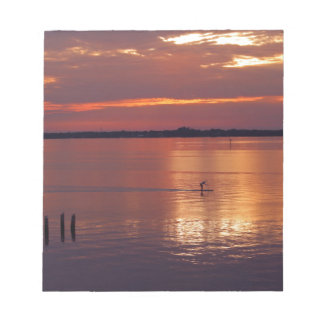 Nocturnal Paddle Boarder Returns Notepad