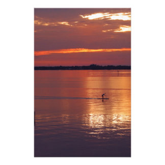 Nocturnal Paddle Boarder Returns Stationery