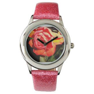 Nocturnal Rose Wristwatch
