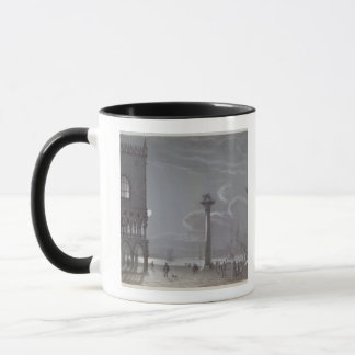 Nocturnal Scene of Palazzo Ducale and the Two Colu Mug