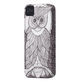 Nocturnal Thinker iPhone 4 Cover