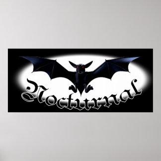 Nocturnal Vampire Bat Posters