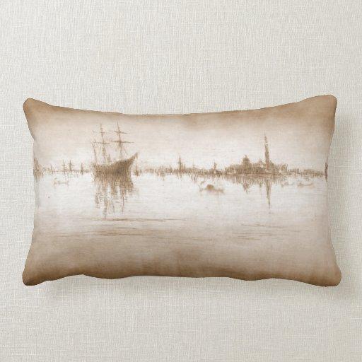 Nocturne 1879 de Venecia Almohada