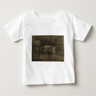 Nocturne Black and Gold - The Rag Shop, Chelsea Baby T-Shirt