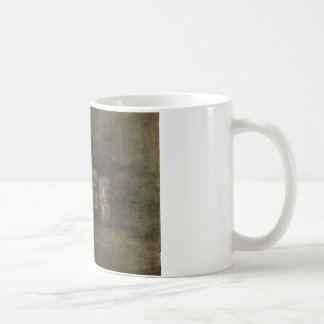 Nocturne Black and Gold - The Rag Shop, Chelsea Classic White Coffee Mug