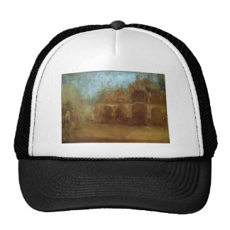 Nocturne: Blue and Gold - St Mark's, Venice Trucker Hat