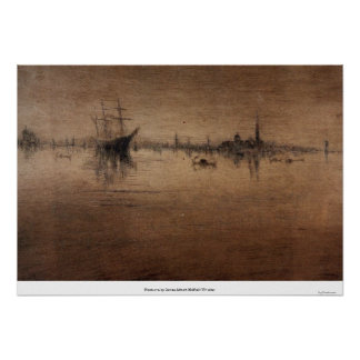 Nocturne by James Abbott McNeill Whistler Posters